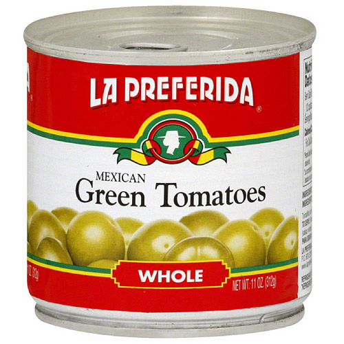 La Preferida Whole Green Mexican Tomatoes, 11 oz (Pack of 12)