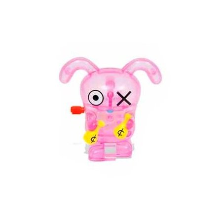 Uglydoll Clear Pink Ox Walking Spinning Wind Up Toy (Uglydoll Ox)