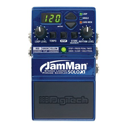 Digitech JMSXT Jamman Solo XT Stereo Looper Phrase Sampler Pedal Digitech Jamman Looper Pedal
