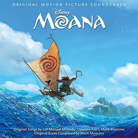 Moana Soundtrack (CD)