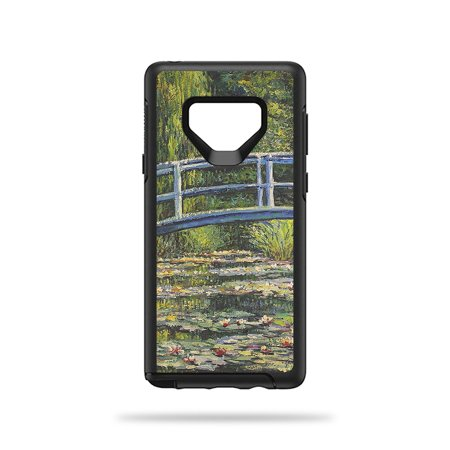 MightySkins Skin For Symmetry Galaxy Note 9 - White Water Lilies | Protective, Durable, and Unique Vinyl Decal wrap cover | Easy To Apply, Remove, and Change Styles | Made in the USA