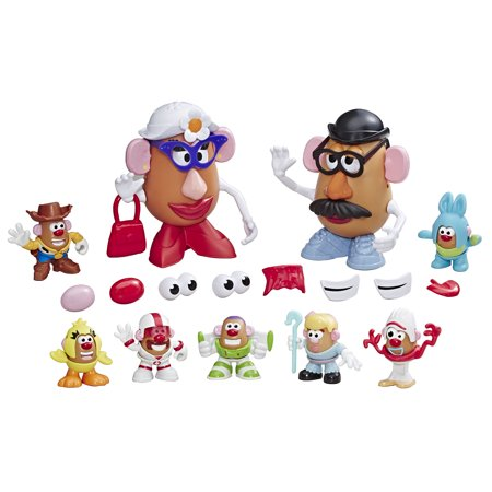 Pirate Mr Potato Head (Disney/Pixar Toy Story 4 Mr. Potato Head: Andy's Playroom Potato)