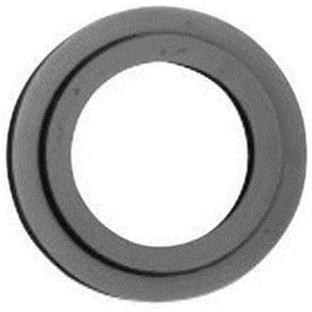 Cylinder Collar Spacer For 1.37 in. Door - Satin Brass & Brown - image 1 de 1