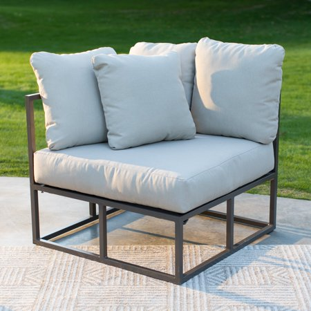 Belham Living Bonaire Aluminum Outdoor Corner Sectional Chair