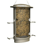 More Birds Squirrel-Proof Feeder, 4.2 Pound Seed Capacity, 4 Feeding Ports, X-1