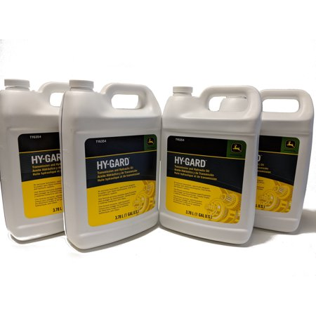 John Deere Original Equipment Gallon-Sized Hy-Gard Oil - TY6354 (4 (John Deere Low Viscosity Hy Gard J20d Equivalent)