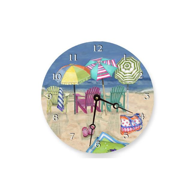Lexington Studios 23086R Adirondack Summer Round Clock by Lexington Studios