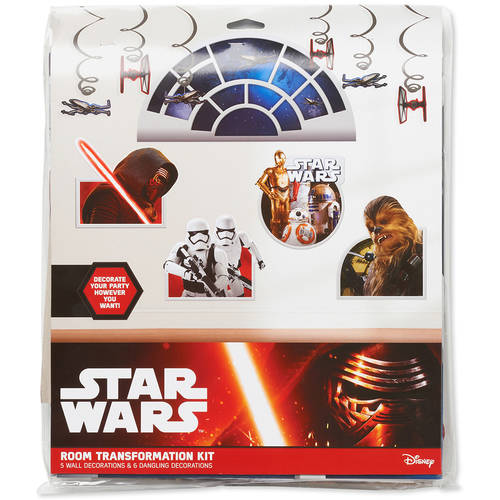 Star Wars Episode VII Room Decorating Kit, Party Supplies