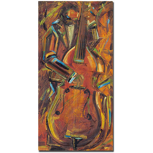"Trademark Art ""Jazz I"" Canvas Art by Joarez"