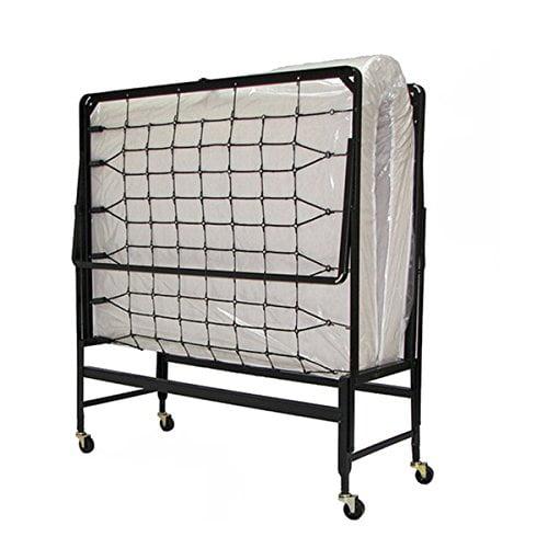 beds bed and veraflex p rolling portable en memory foam fl home with luxor mattress folding