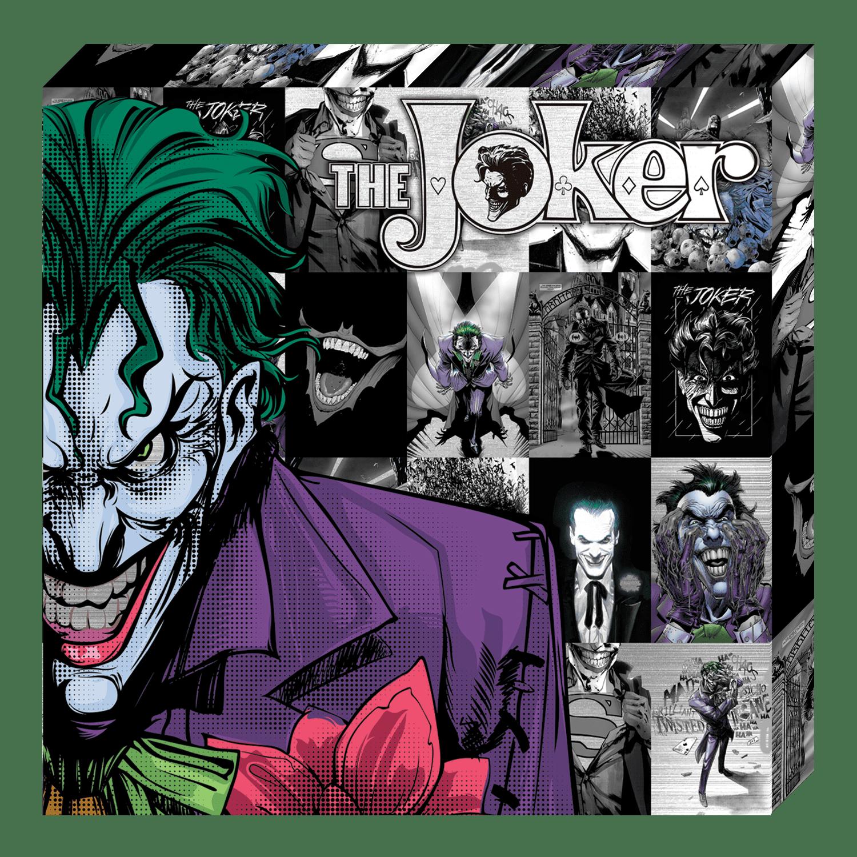 Dc Comics Metallic Canvas Joker Halftone Walmart Com Walmart Com