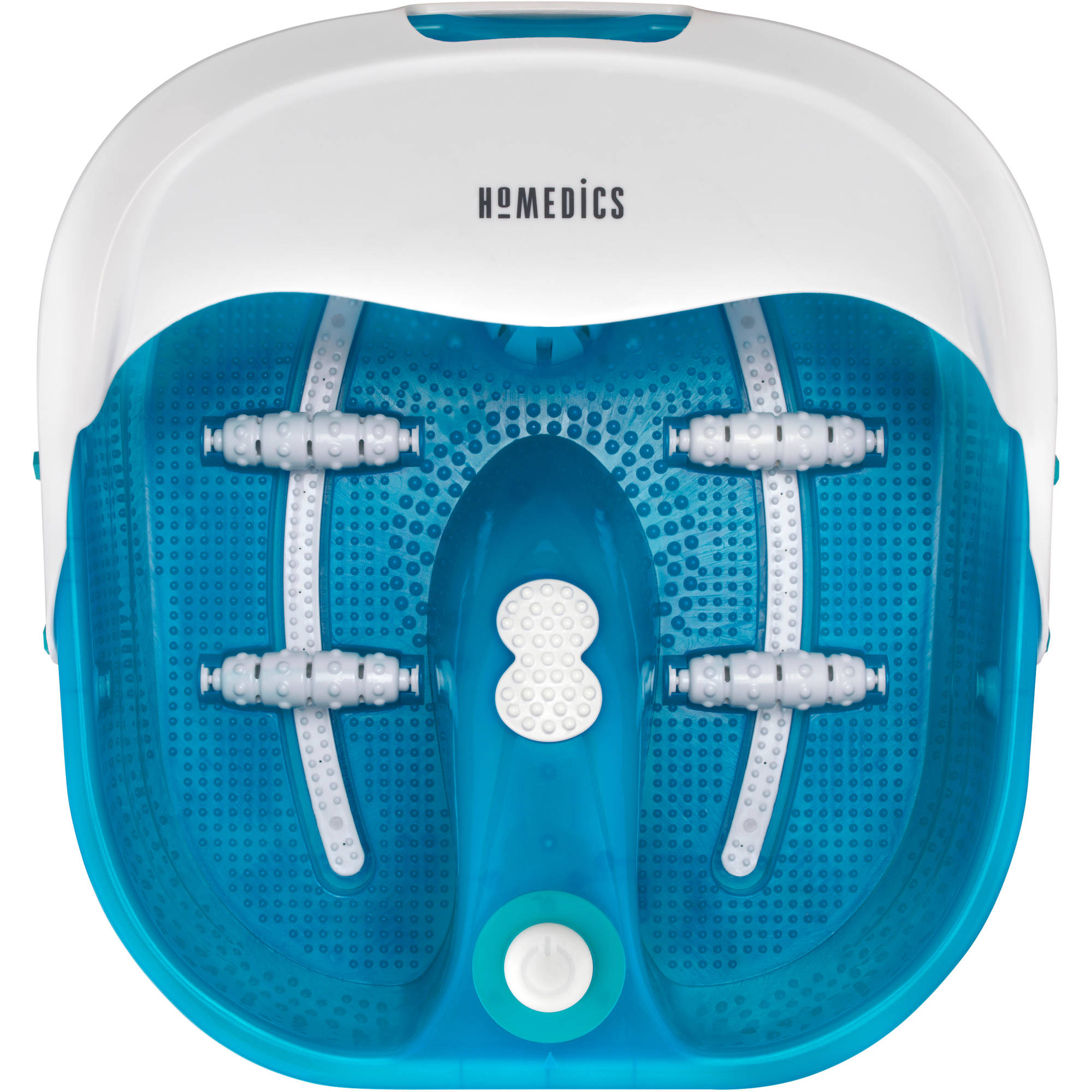HoMedics Bubble Therapy Foot Spa with Heat Boost Power