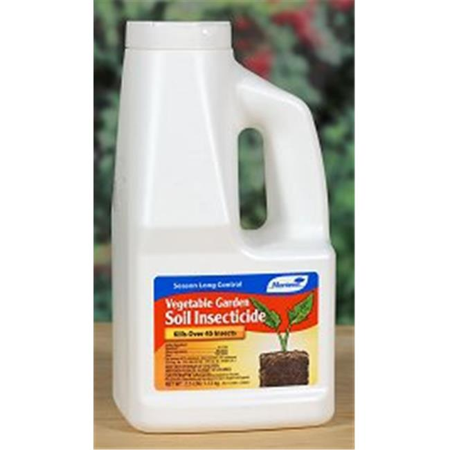 Monterey LG 6308 Vegetable Soil Garden Insecticide 2. 5 lbs - Pack of 6