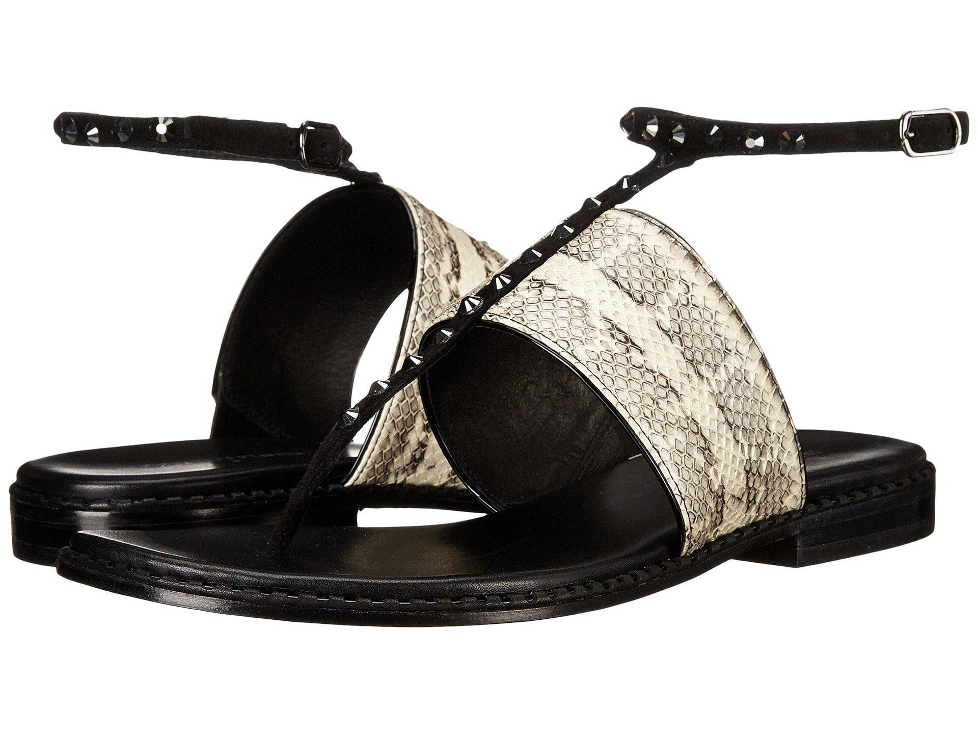 Donald J Pliner Womens Lacysp Leather Split Toe Formal T-Strap Sandals by Donald J Pliner