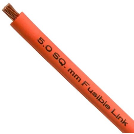 Fusible Link Wire (8122PT 10 Gauge Fusible Link Wire (5.0 SQ mm) 1' per Package - Color Will Vary, 10 Gauge By Pico)