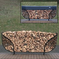 Shelter It 8' Double Leaf Round Firewood Storage Crib