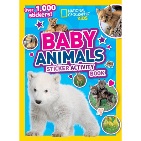 National Geographic Kids Baby Animals Sticker Activity - Halloween Activities For Toddlers In Atlanta