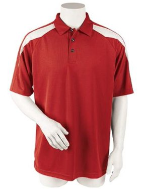 cf021193 Product Image Paragon Men's Three Button Placket Polo Shirt
