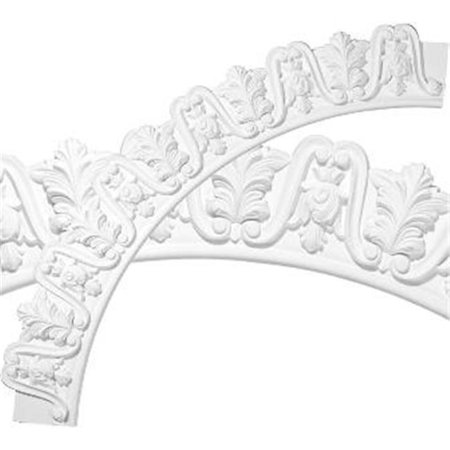 57.38 in. OD x 46.12 in. ID x 5.62 in. W x 1 in. P Architectural Accents - Tirana Ceiling Ring - image 1 of 1
