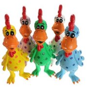 """610017 Globkens, Latex Chicken, Large, 11.5"""", Assorted Colors"""