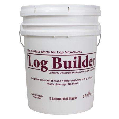 Log Builder 5 Gallon Pail Woodtone ()