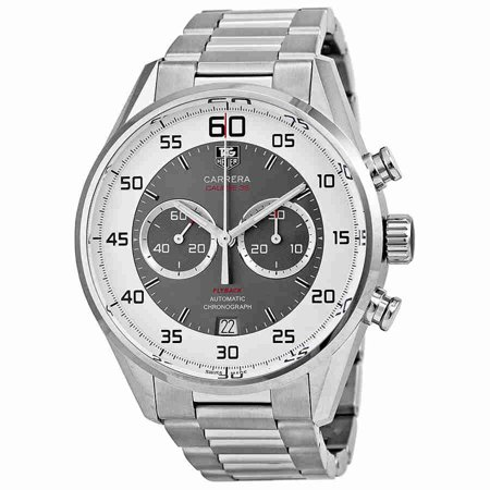 Tag Heuer Carrera 36 Flyback Chronograph Grey Dial Mens Watch