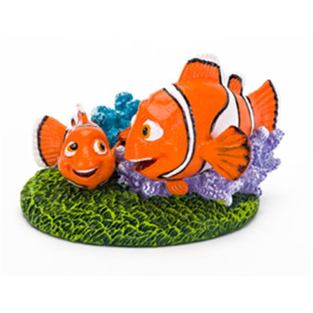 Penn-Plax Disney Finding Dory Aquarium Ornament - Nemo & Marlin (6