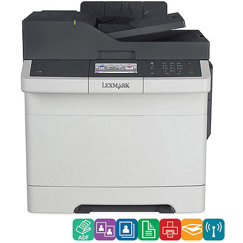 Lexmark CX410DE Color Laser MultiFunction Printer