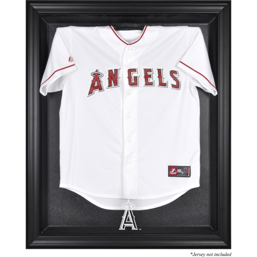 Los Angeles Angels Fanatics Authentic Black Framed Logo Jersey Display Case - No Size