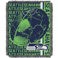 Seattle Seahawks The Northwest Company 46'' x 60'' Double Play Jacquard Throw - No Size