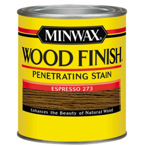 Minwax Wood Finish, Half Pint, Espresso