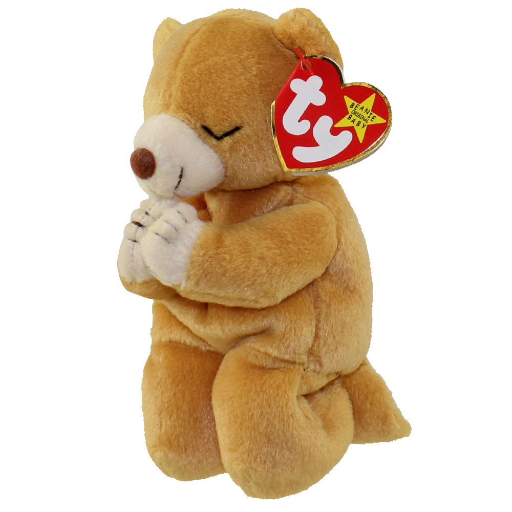 TY Beanie Baby - HOPE the Praying Bear (7 inch)