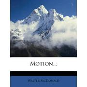 Motion... (Paperback)