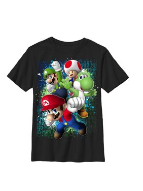 ae37633207e64b Product Image Nintendo Boys  Mario Friends Jump T-Shirt