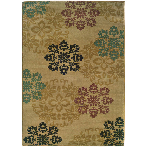 Home Expressions Genty Area Rug, Beige