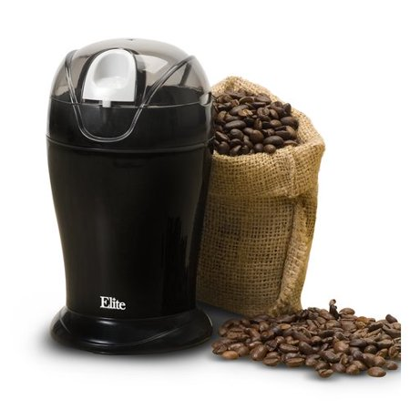 Maxi Matic Elite Cuisine Coffee and Spice Grinder, Black