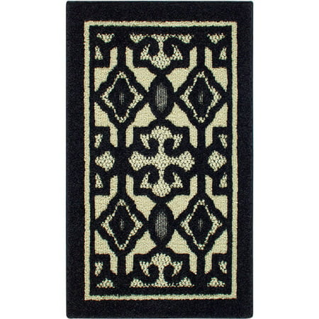 Better Homes and Gardens Irongate Tufted Olefin Rug Black