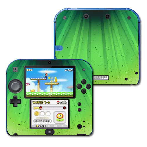 Mightyskins Protective Vinyl Skin Decal Cover for Nintendo 2DS wrap sticker skins Growth