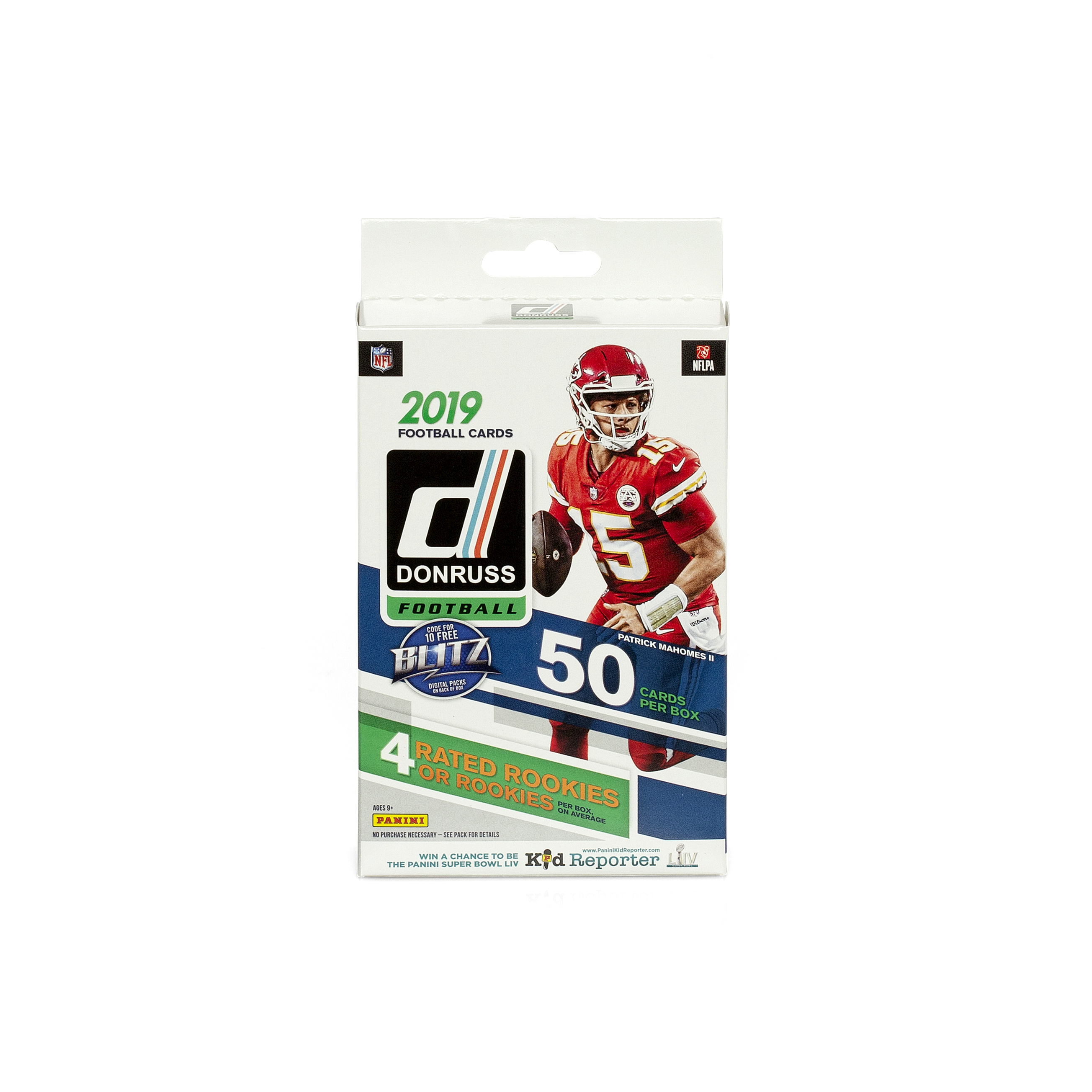 Donruss 2019 Football Cards Hanger Box 50 Cards Per Box