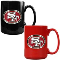 San Francisco 49ers 15oz. Coffee Mug Set - No Size