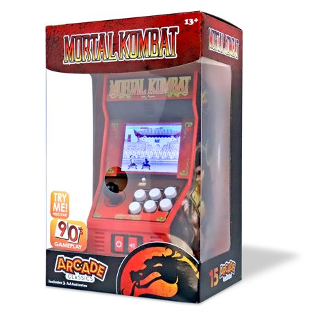 Mortal Kombat - Handheld Arcade Game - Color Screen