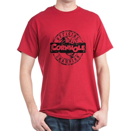 2d98f8771ead CafePress - Cornhole Champion - 100% Cotton T-Shirt - Walmart.com