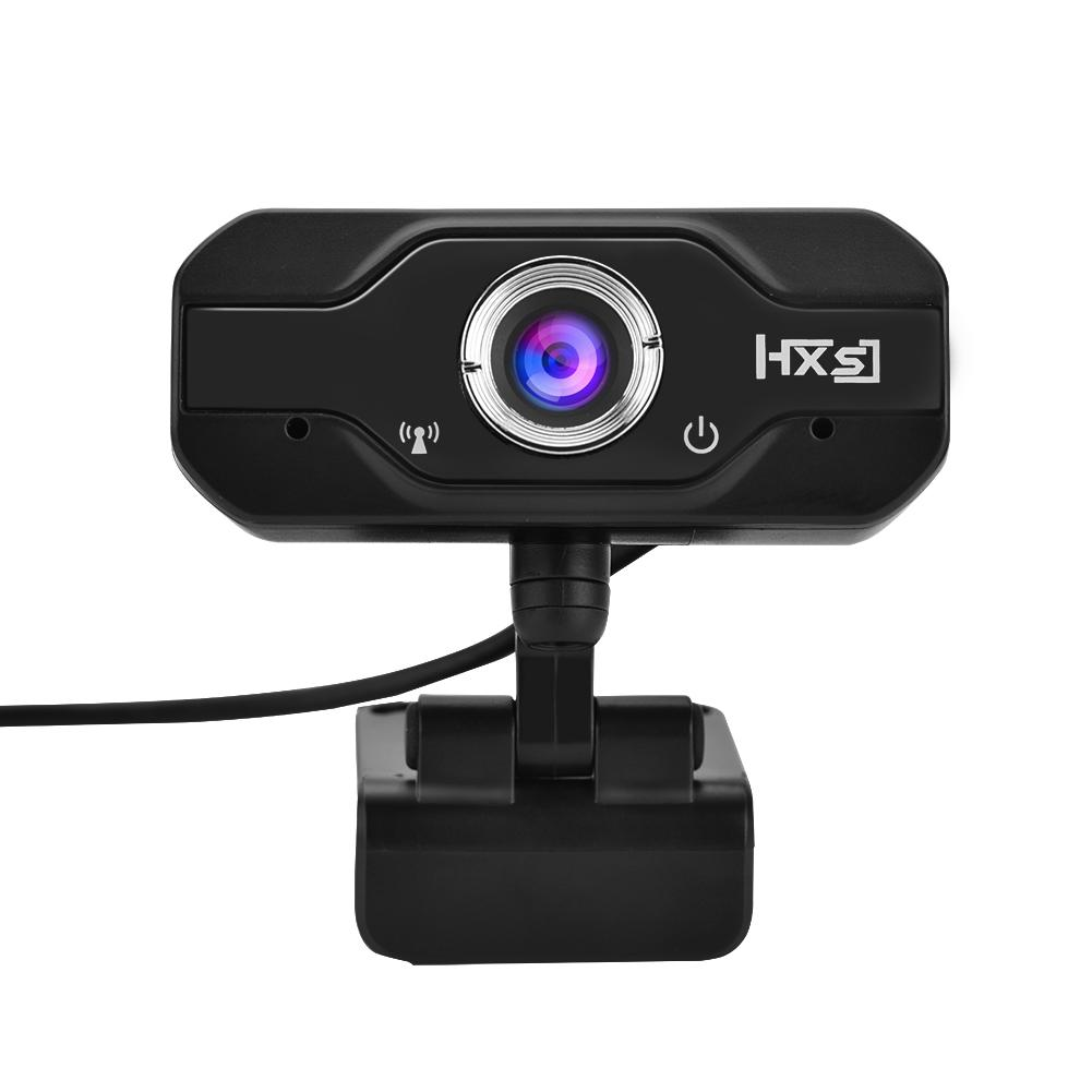 Qiilu HXSJ 720P HD Webcam USB Widescreen Computer Camera with Microphone for PC, Desktop or Laptop External... by Qiilu