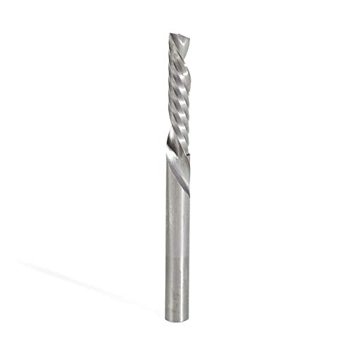 Amana Tool 46332 Solid Carbide Slow Spiral Flute Plunge 1//2 Dia x 1 2 Shank Rou