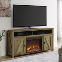 Ameriwood Home Farmington Electric Fireplace TV Console - Multiple Colors and Sizes