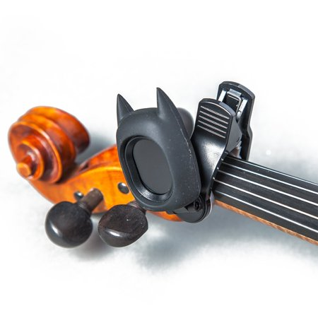 Chromatic Bass Scales - SWIFF Digital Chromatic Guitar Bass Violin Ukulele Carton Tuner w Battery (Black Bat)