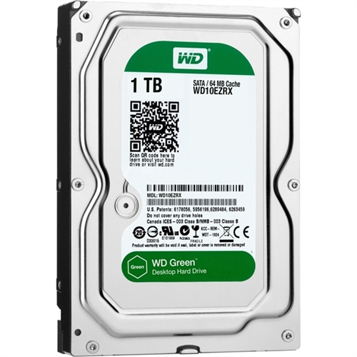 WD Green 1TB Desktop Capacity Hard Drives SATA 6