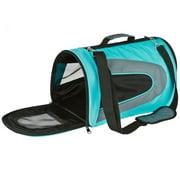 Teal Designer Portable Pet Carrier Bag