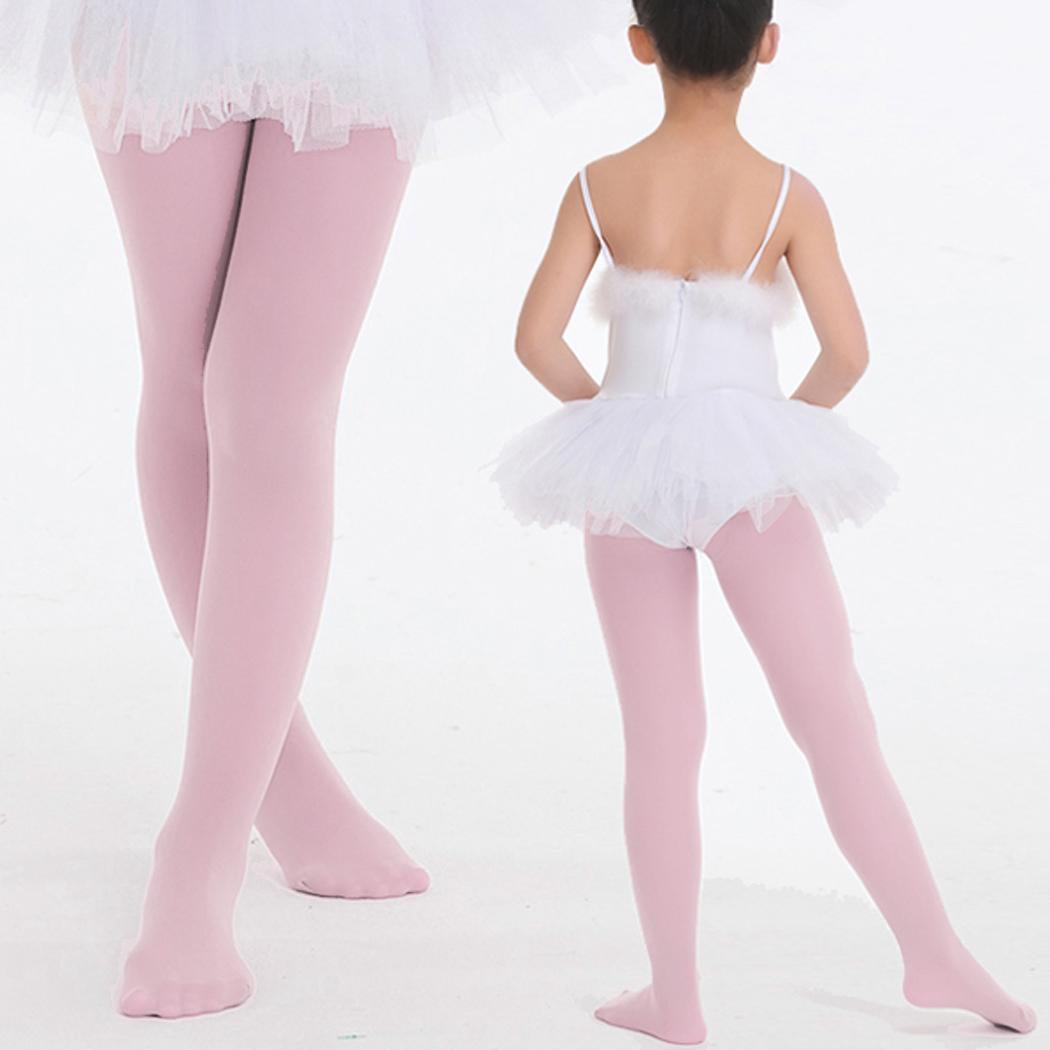 93963ed4f5892 Children's Girls Ballet Dance Tights Footed Seamless Solid Stockings Caroj  | Walmart Canada