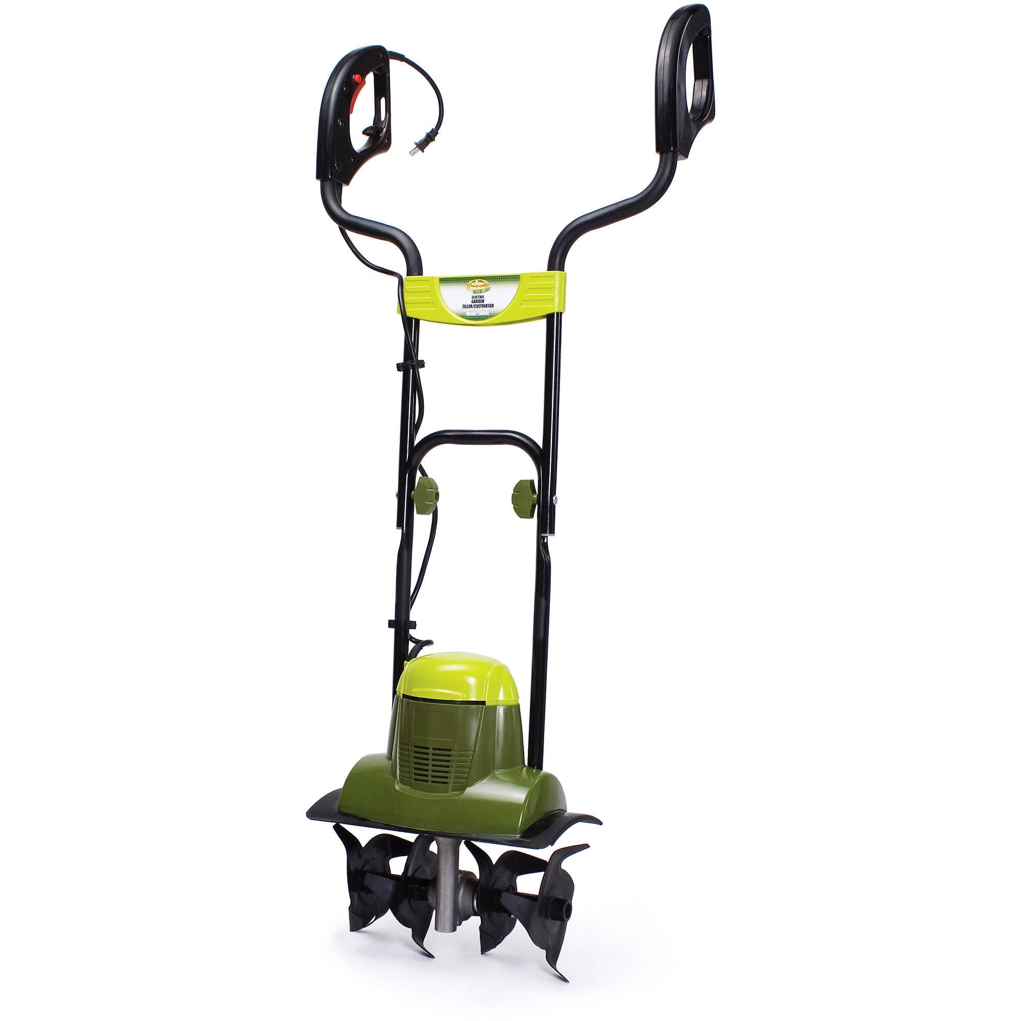 Sun Joe Tiller Joe 6.5-Amp Electric Garden Tiller/Cultivator – TJ600E